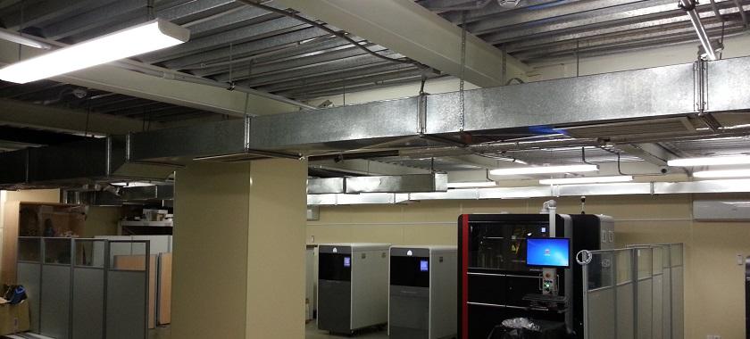 Реконструкция вентиляции в офисе Consistent Software Distribution